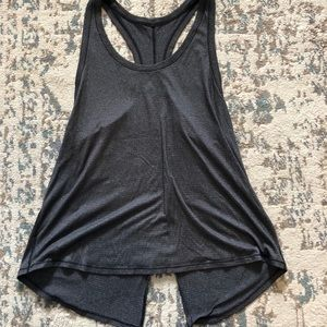 Lulumeon workout tank with back tie
